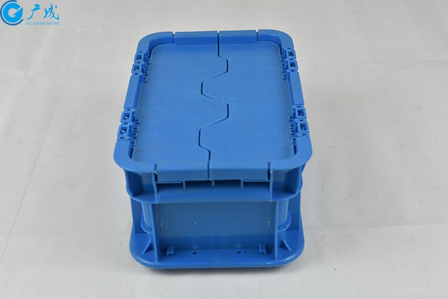 GM23148翻蓋物流箱把手面