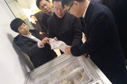 省市場監管局局長唐遠游調研央廚產業園,對無明礬土豆粉給予高度贊揚!