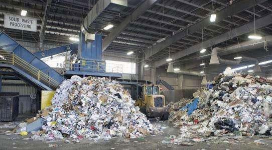工业固废垃圾处理