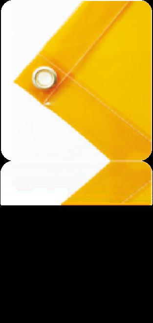 VWS-GO-01金黃色透明電焊遮光簾