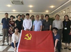 上海医疗器械检测所党政班子考察雄捷医疗、捷影科技