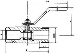 Q21F广式球阀