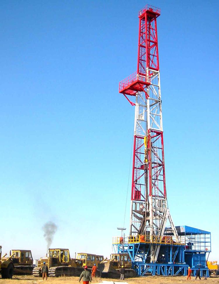 3000米撬装钻机