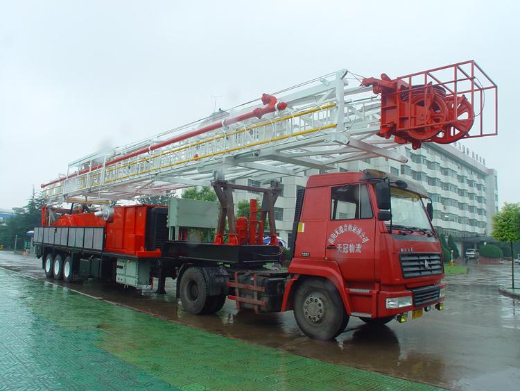 2000米拖挂钻机