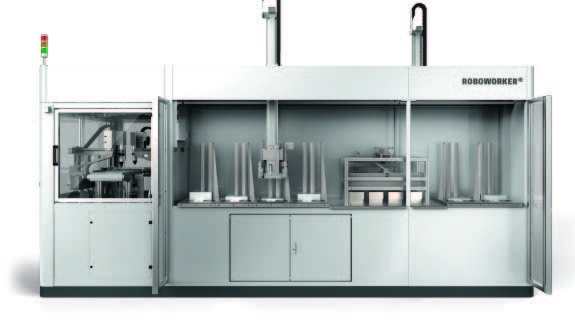 RPS Universal repalleting line