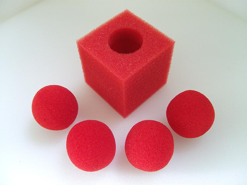 魔术玩具--海绵方块