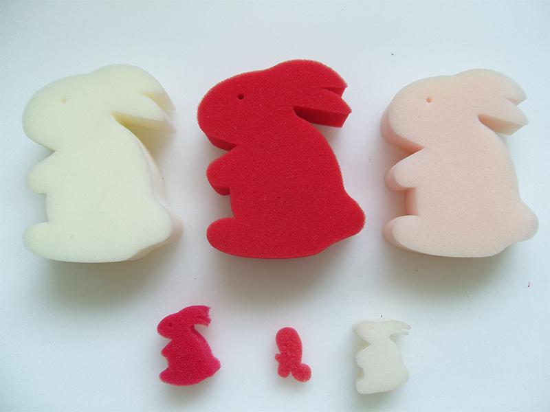 玩具海绵兔子