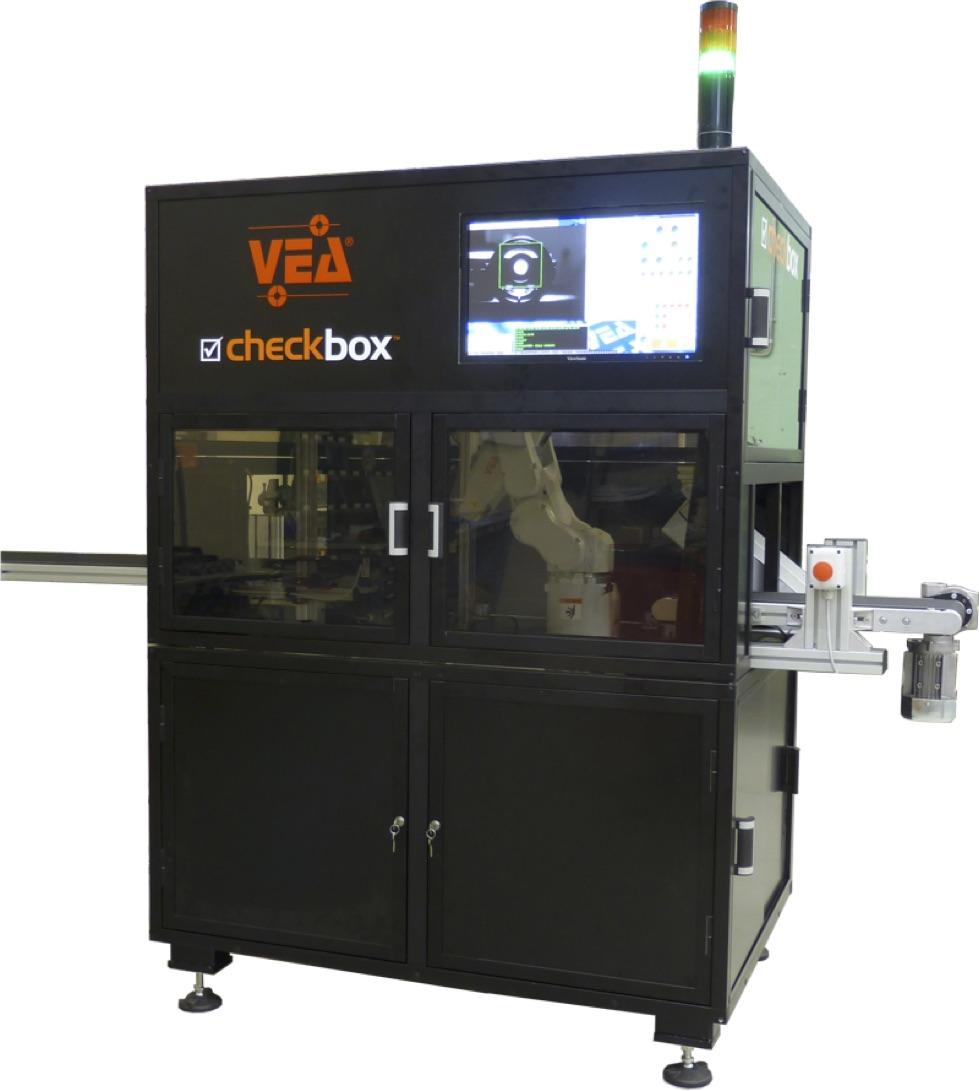 VEA人工智能测量和检测设备