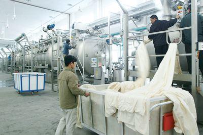 不锈钢在纺织印染行业应用