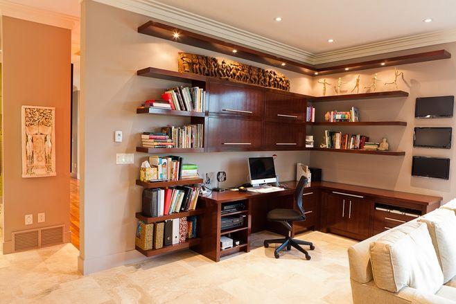中式书房装饰—青海梵筑装饰工程有限公司