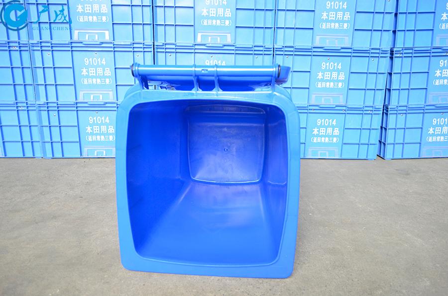 100升垃圾桶桶內部