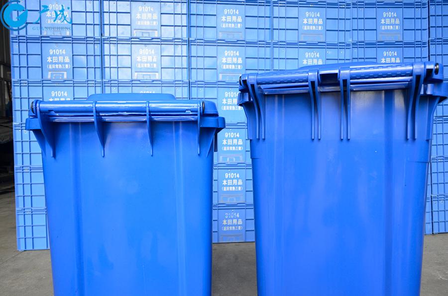 240升加厚垃圾桶加強對比