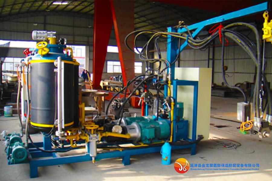Field Application of L-type High Pressure Foaming Machine