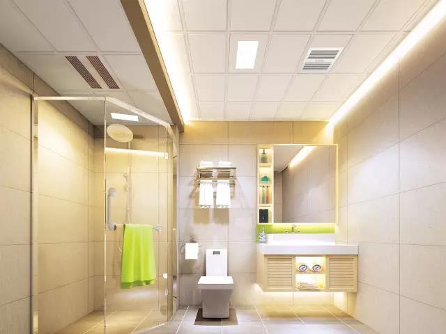 现代简约卫浴装修样式—青海梵筑装饰工程有限公司