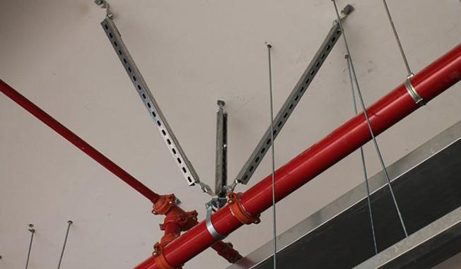 抗震支吊架的分类与布置原则?建顾科技悄悄告诉你