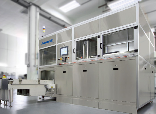 MODULINE Water-based multi-tank ultrasonic cleaning machine