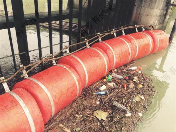 安全区域拦污浮桶