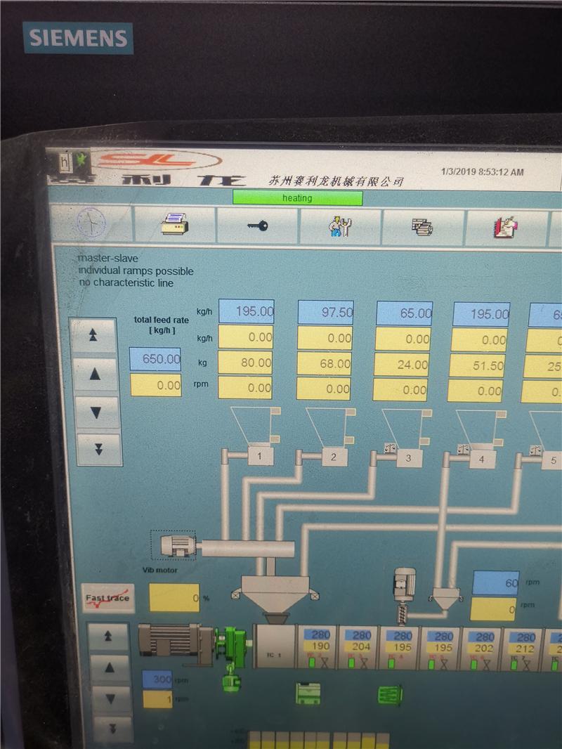 挤出机控制系统