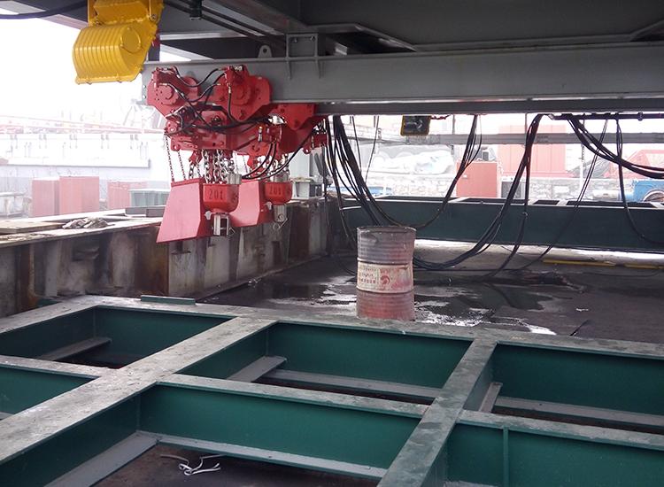 防喷器吊移装置