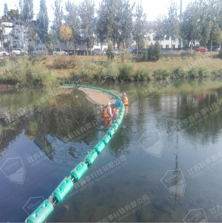 河道拦渣拦截浮筒