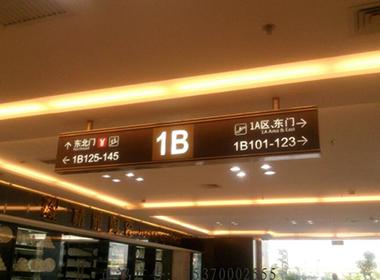 商场指示牌