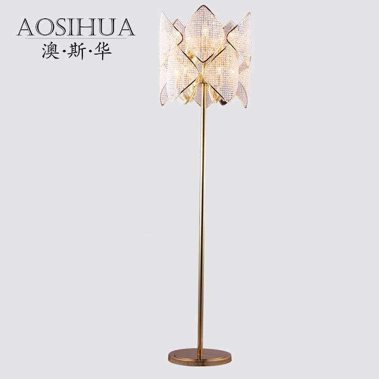 后现代风格个性装饰客厅LED立式灯