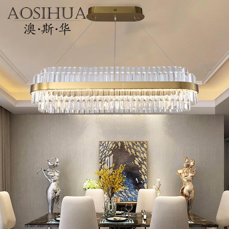 ASA-18158轻奢后现代客厅水晶吊灯
