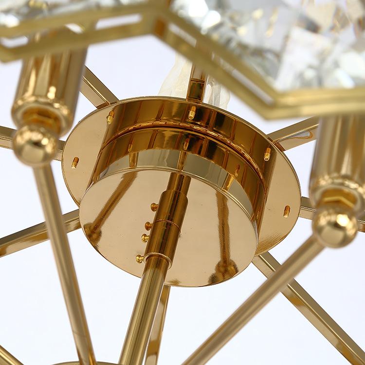 ASA-17985时尚香槟金水晶吊灯