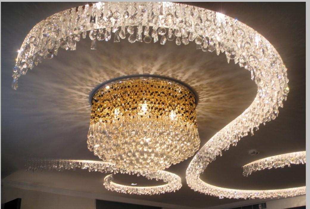 专业的酒店水晶灯定制厂家教你水晶灯怎么选