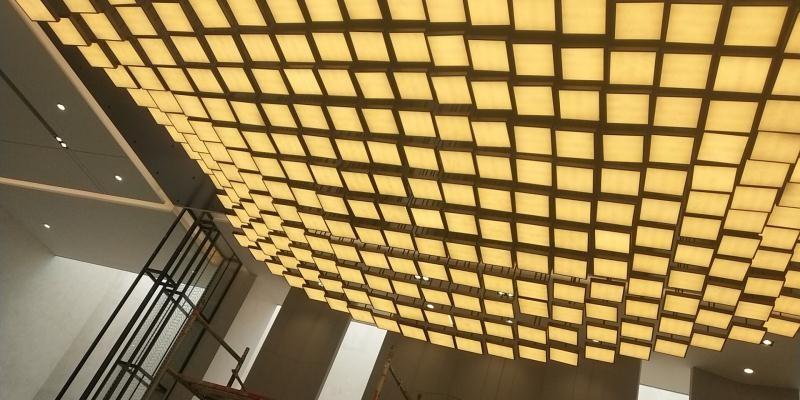 南京华璋大厦灯饰安装工程