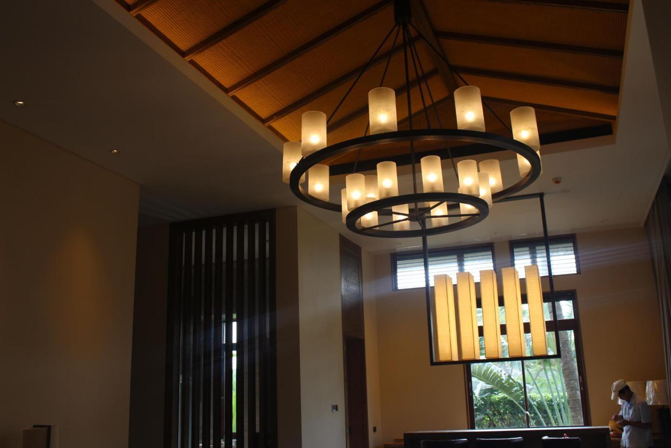 三亚海棠湾洲际酒店灯饰安装工程