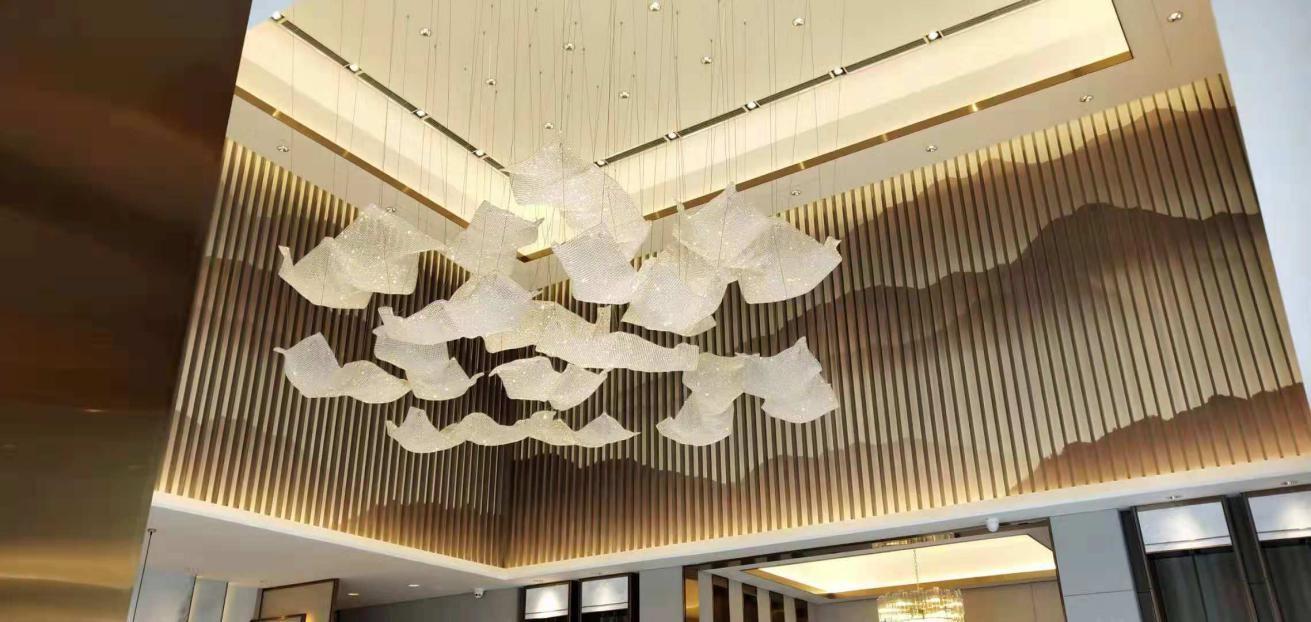 重庆中骏地产灯饰安装工程