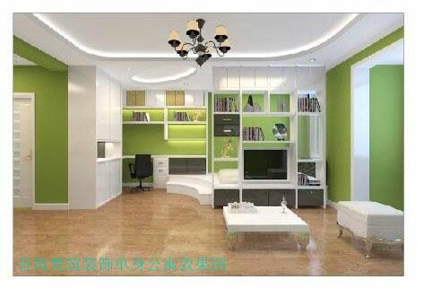 梵筑装饰单身公寓效果图