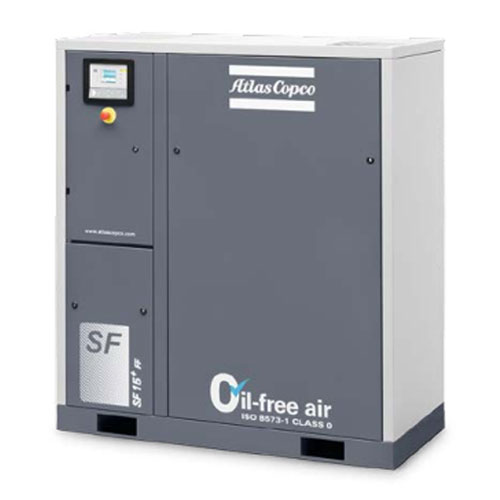 阿特拉斯无油涡旋压缩机
