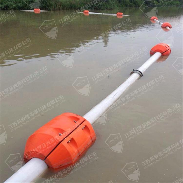 高耐磨塑料排泥管浮体