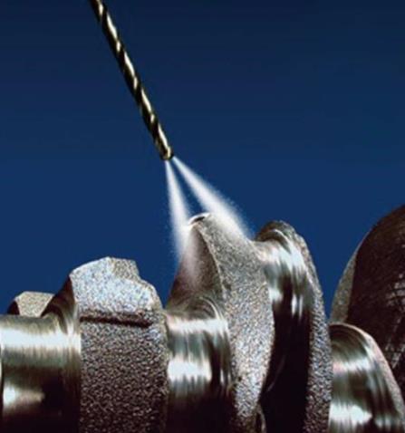 微量潤滑小徑深孔加工