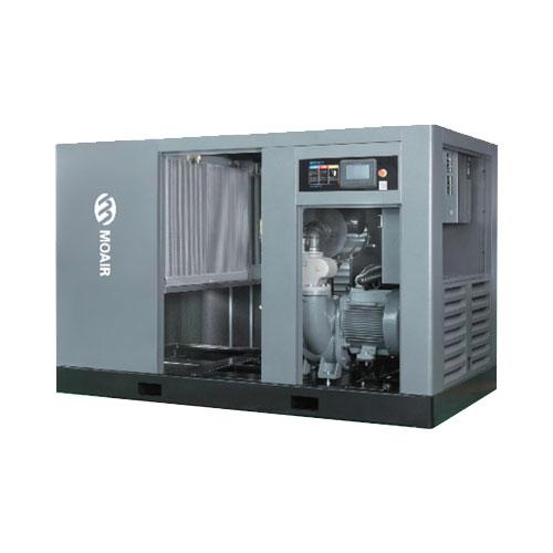 牧風兩級壓縮永磁變頻螺桿式空氣壓縮機