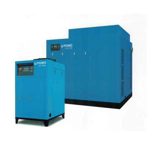 永磁变频单/双级空气压缩机