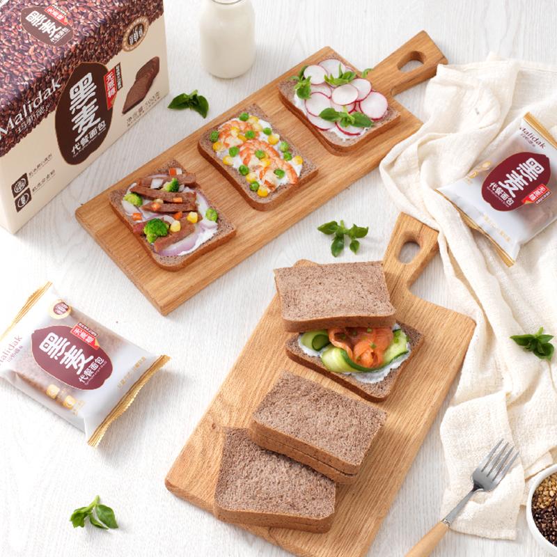 玛呖德黑麦代餐面包,轻松拥有健康好生活