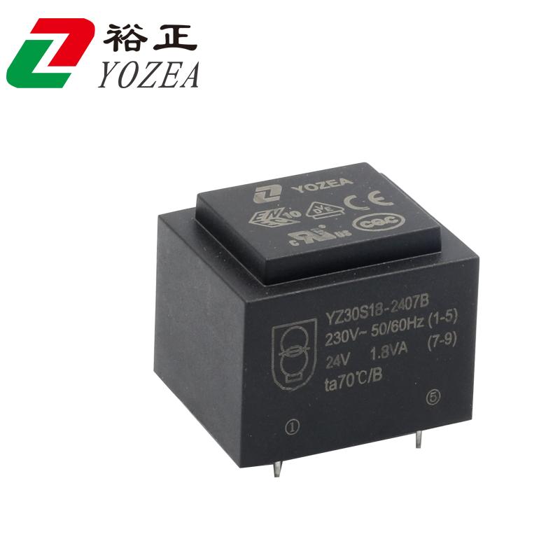 EI30/18, 2.5VA 230v ac 24v 24vac small isolation ac transformer