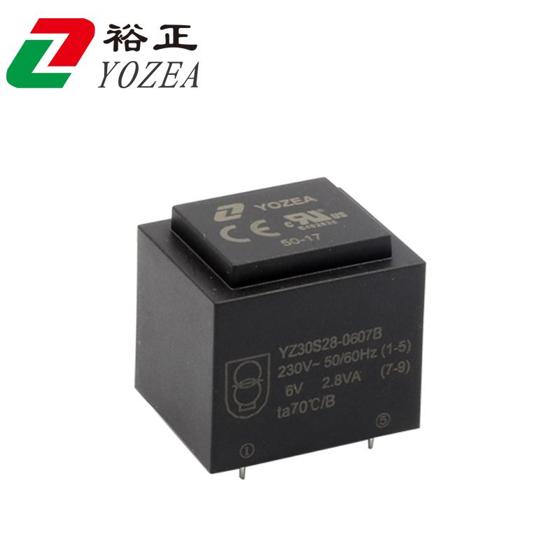 EI30/23, 6v 2.8VA 230v 120v 6v transformer