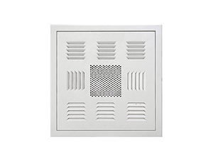 What are the principles to follow for air outlet selection?