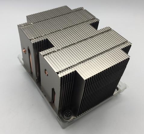 2U-3647銅底+鋁底+鋁FIN+4熱管焊接