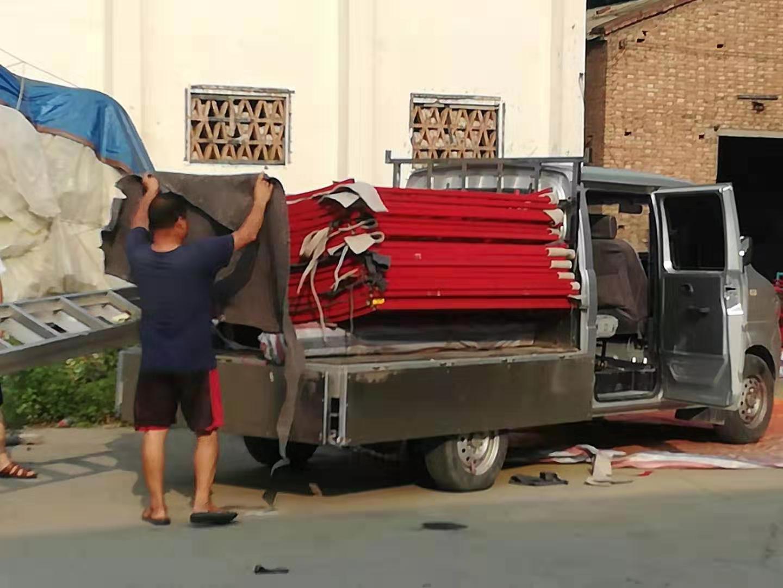 钢网蒙古包发货