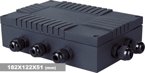 铝合金模拟接线盒