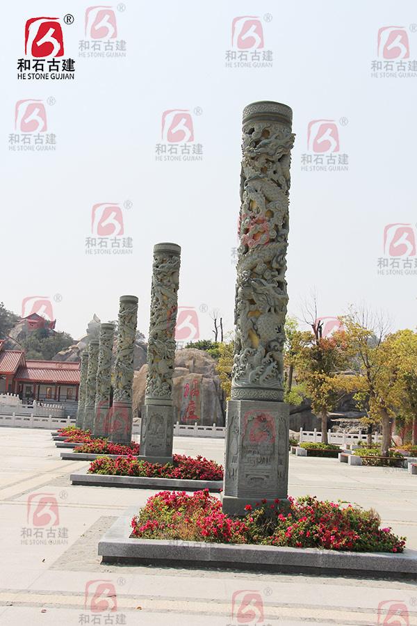 石雕龍柱價格