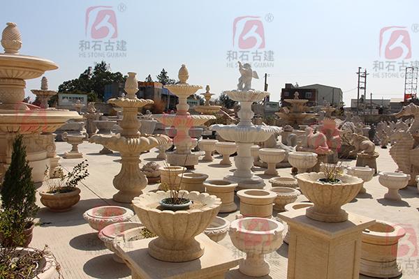 福建石雕喷水池