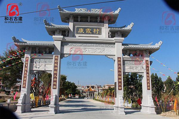 山门-康霞村