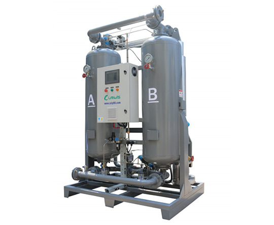HRB-Z零气耗鼓风再生吸附式干燥机