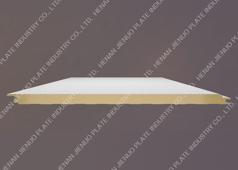Polyurethane seamless wall panel